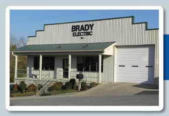 Brady Electric | Providing Residential, Commercial and Industrial Electric Services to Central Kentucky